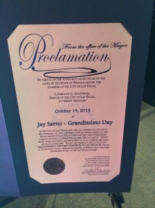 Sarno Proclamation