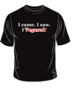 Vegas T Shirt Front