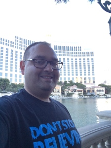 DSB in front of the Bellagio